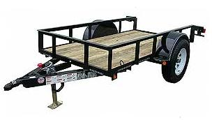 SA48/SA410 - 2,995lb Single Axle Utility Trailer